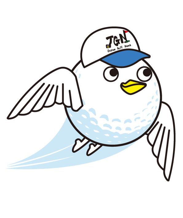 日本ゴルフ新聞社キャラクターゴルオくん