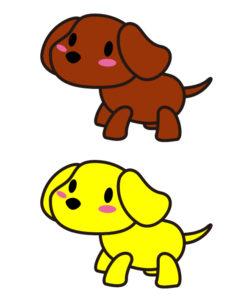 あきのはるの, イラスト, イラストレーター, イラスト作成, キャラクター, キャラクター作成, 犬,