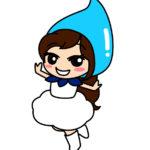 雲の妖精の女の子